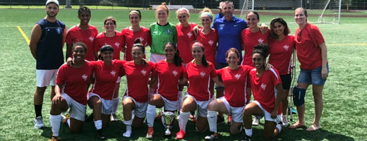 Central Jersey Forza WFC - 2020 NJSA Women's State Cup Champions